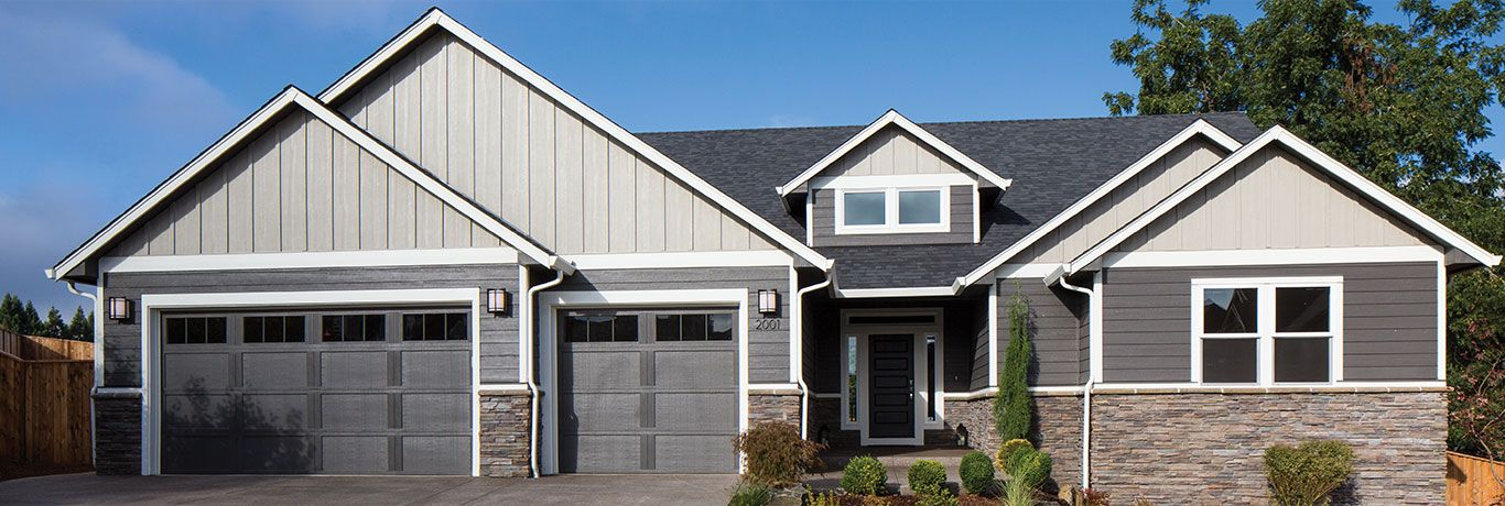 Panel Siding Engineered Wood Siding Panels Brick House Siding House Siding House Exterior