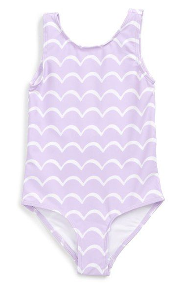 Tucker + Tate One-Piece Swimsuit (Toddler Girls, Little Girls & Big Girls) available at #Nordstrom