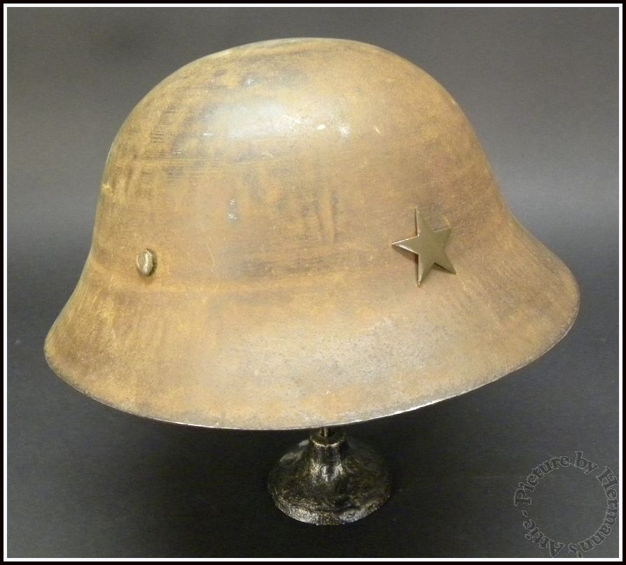 Original WW2 Vintage Imperial Japanese Army Type 90 Steel Helmet