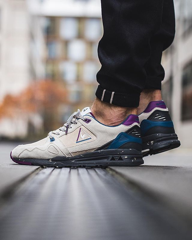 08a30fcc753a le coq sportif ♢ R1000 90 S Outdoor  Gray Morn  available in-store and  online  titoloshop Berne