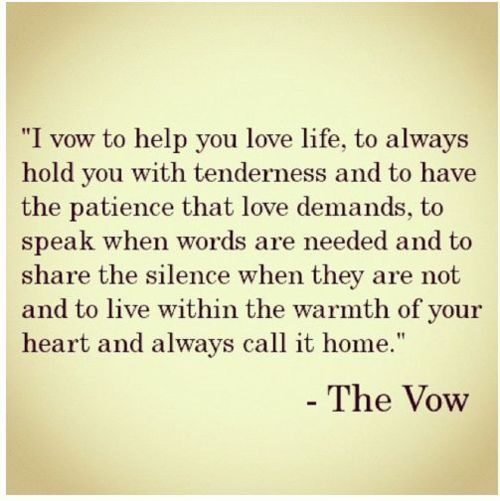 Gallery Quotes About Love To Inspire Your Wedding Vows: I Vow, To Love You Fiercely, In All Your Forms, And Never
