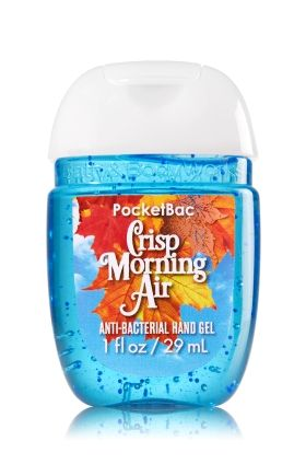 Crisp Morning Air Pocketbac Sanitizing Hand Gel Bath Body