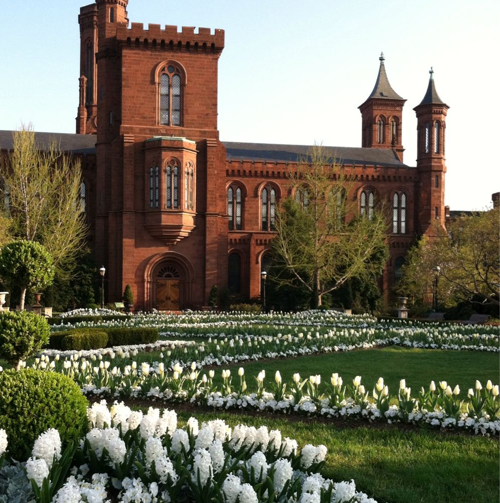 Enid Haupt Garden south entrance to the Smithsonian Institution ...
