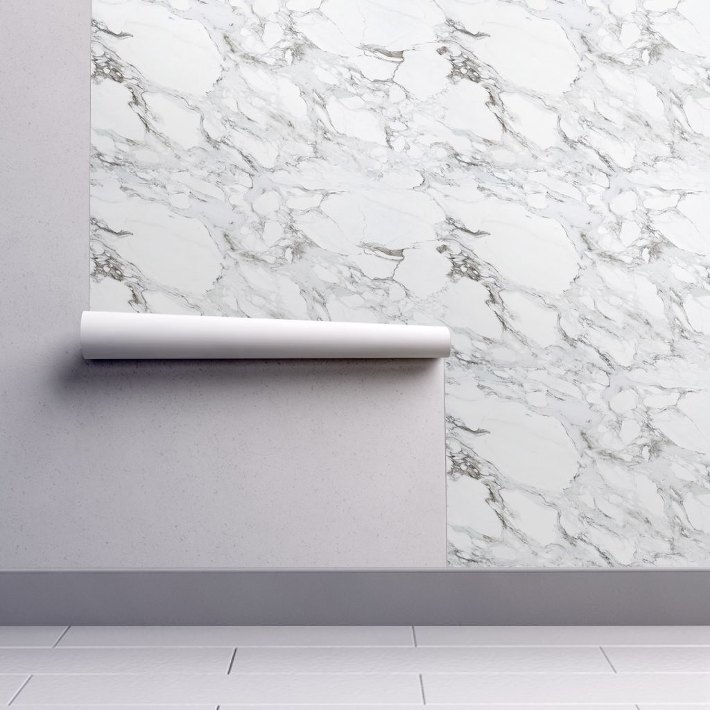 Carrera Marble on Isobar by Roostery