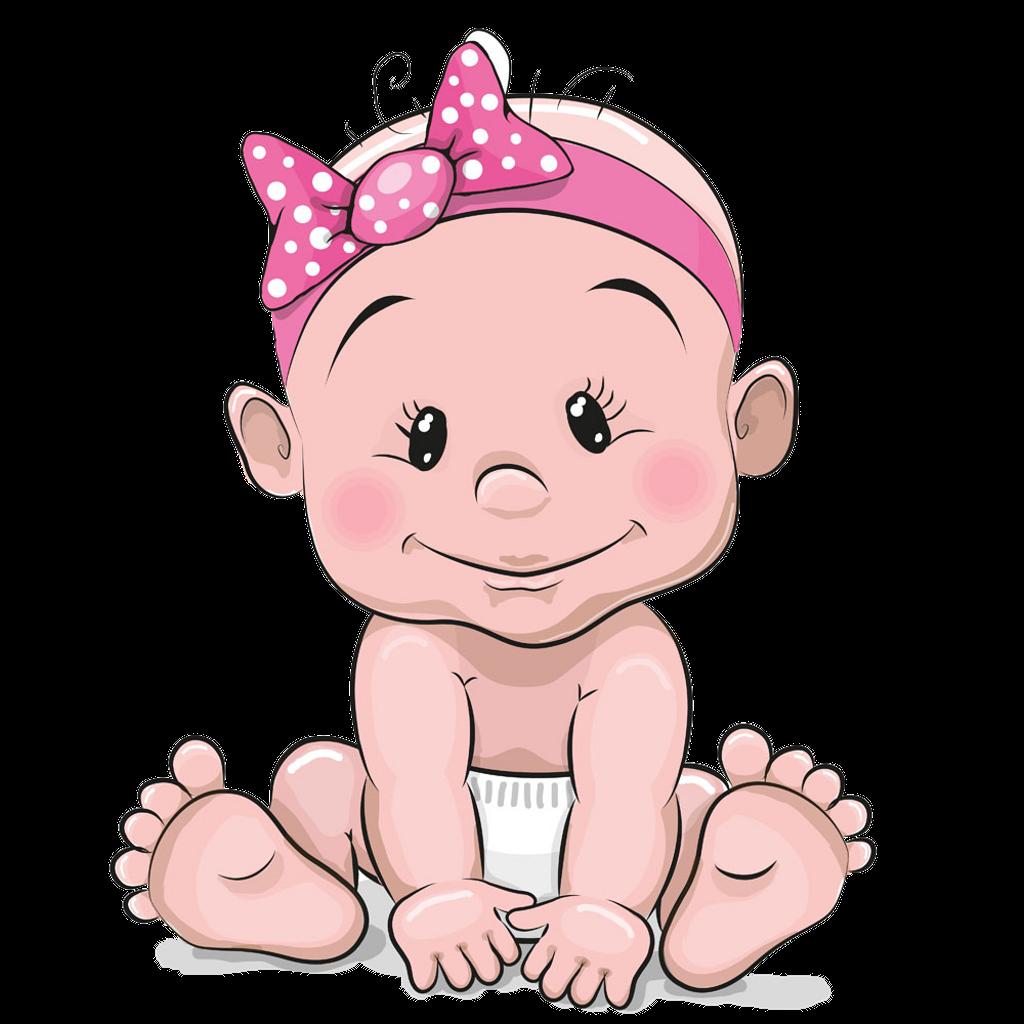 Babygirl Freetoedit Sticker By Abrar Cute Baby Cartoon Baby Cartoon Baby Girl Clipart