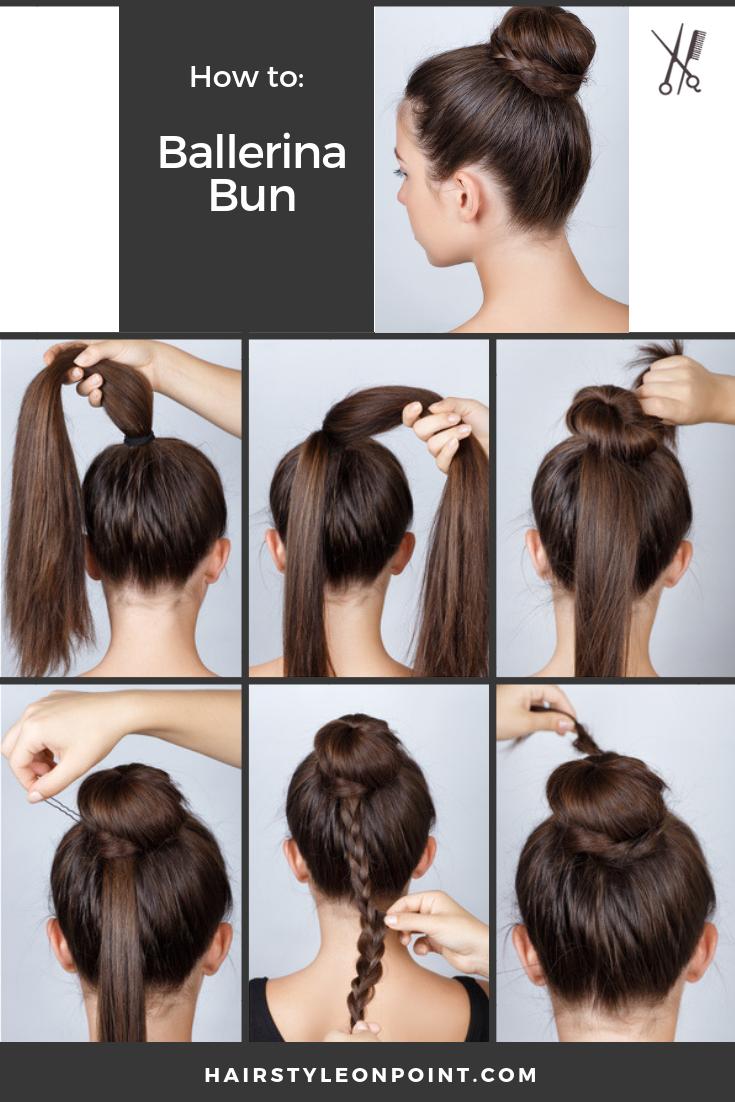 Hair Trends Mens Women S Most Popular Hair Trends For 2021 Short Hair Bun Short Hair Styles Easy Ballerina Hair Buns