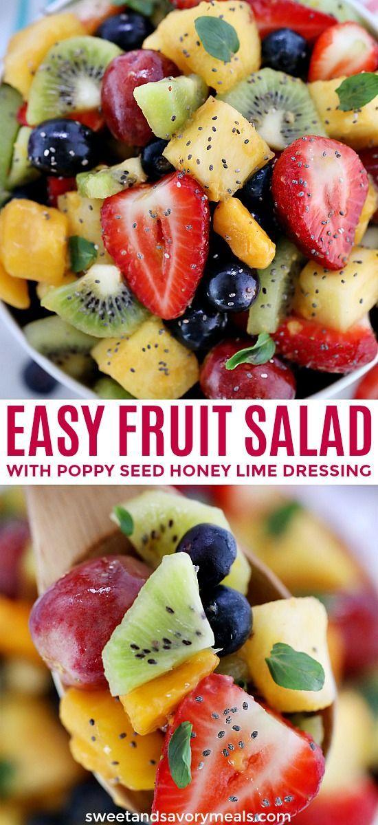 Summer Fruit Salad #fruitsalad