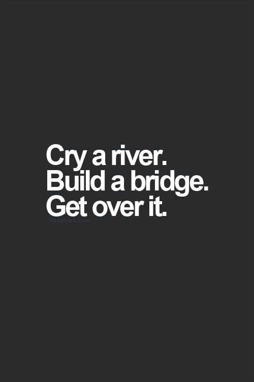 Image result for get over it