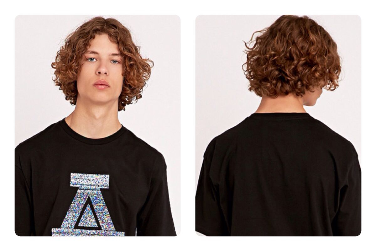 Mens type a curl wave graduated bob fashion for t pinterest