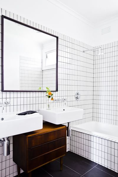 Interior Design Danish Mid Century Bathroom Styling Industrial