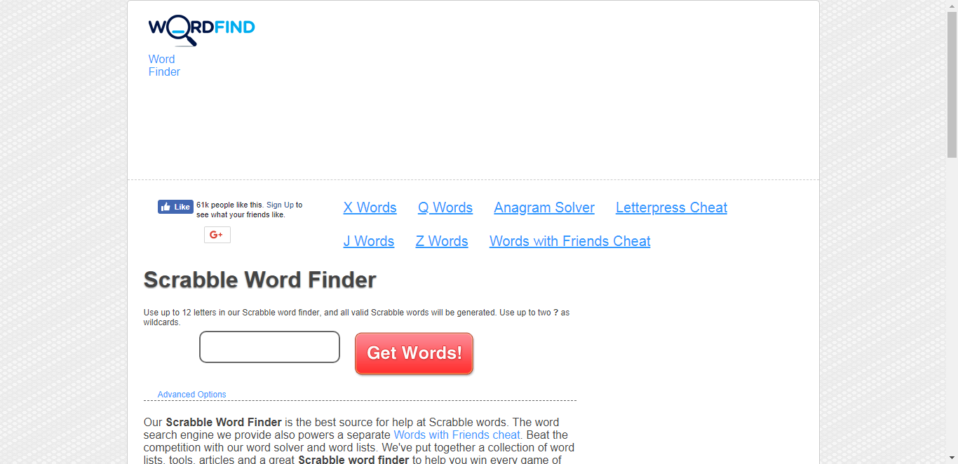 Scrabble Word Finder - Scrabble Cheat / Scrabble Solver | 03