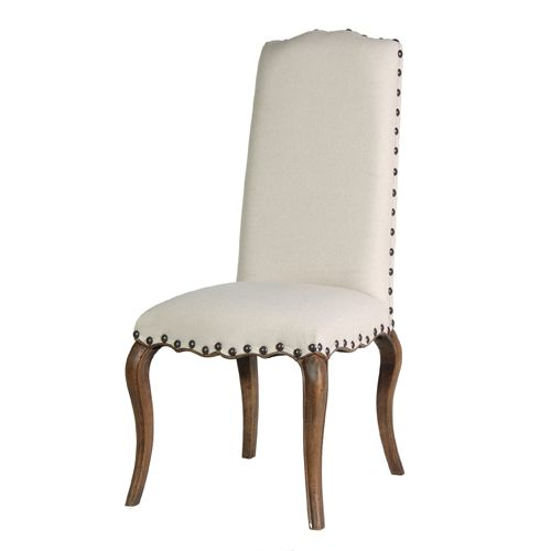 Dining Room White Puffy Chair With Wood Leg Winning Chairs