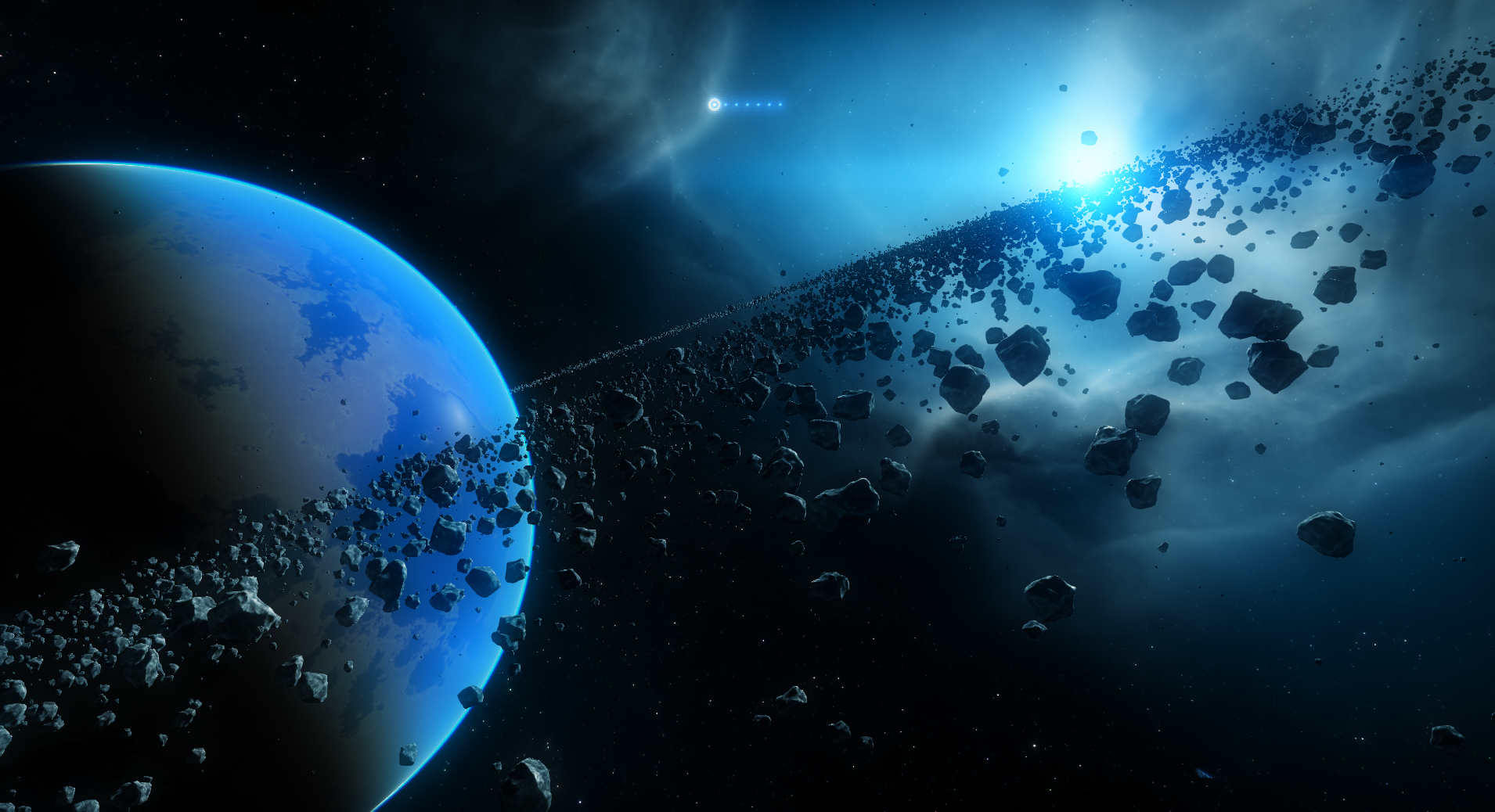 cool comets meteors and asteroids wallpaper - photo #37