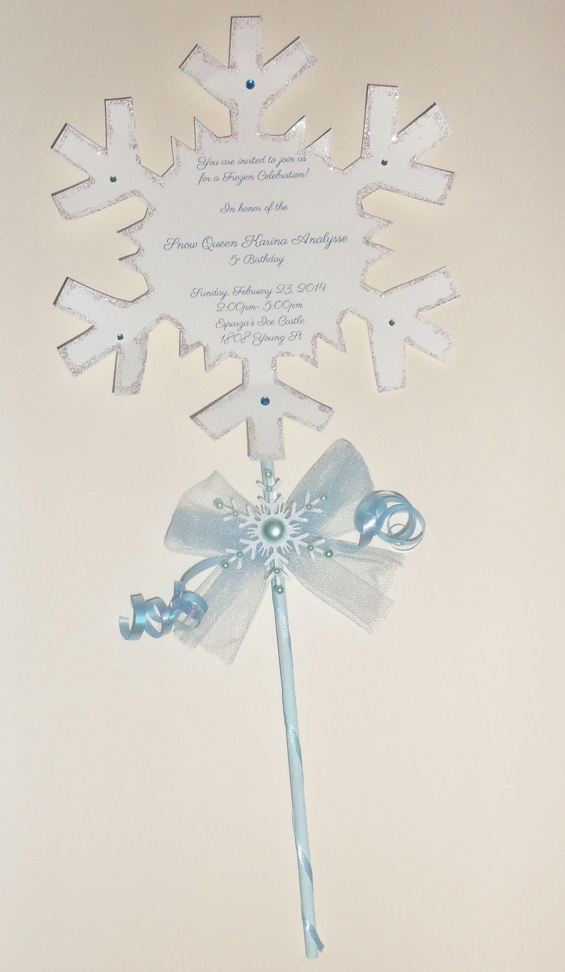 Frozen Party Invitations | Froozed | Pinterest | Frozen birthday ...