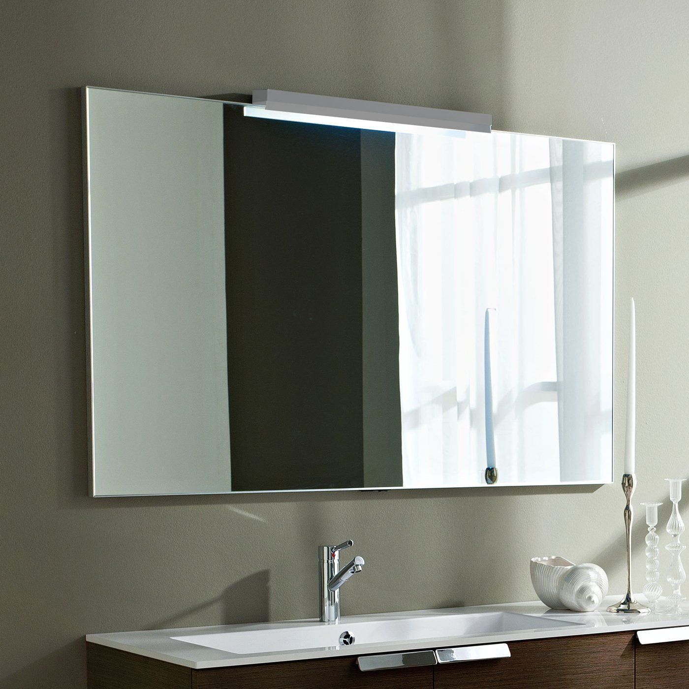 Bathroom Mirror Ideas There Square Measure A Incalculable Style Of Ways To Develop A Lavatory Fr Bathroom Mirror Large Bathroom Mirrors Bathroom Mirrors Diy