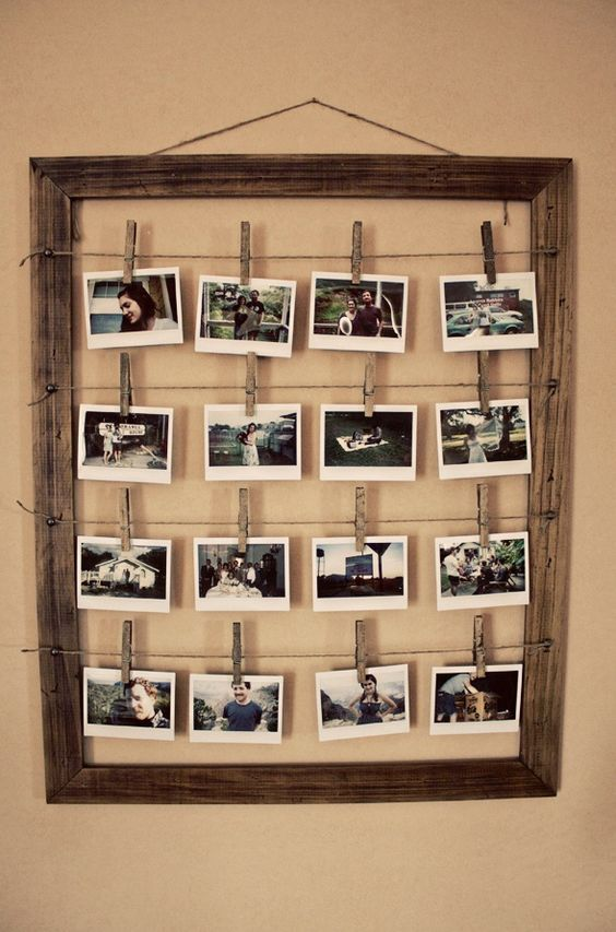 10 DIY Picture Frames You Can Make Easily | Interior design pictures ...