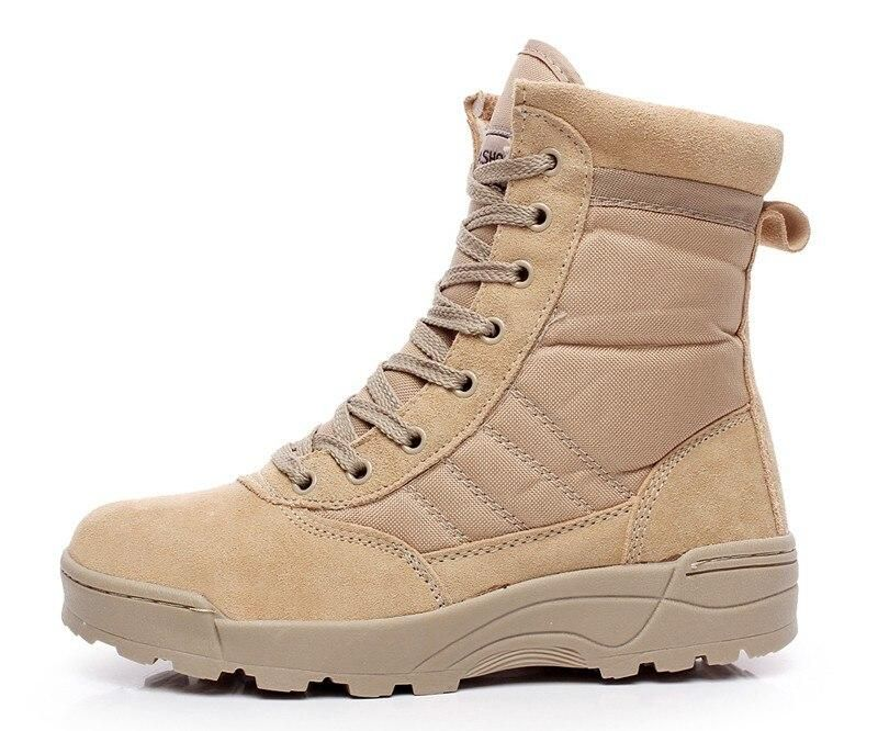 Men Desert Military Boots Male Winter Tactical Snow Ankle Boots Army C Sheheonline Shoes Boots Combat Military Boots Mens Leather Boots