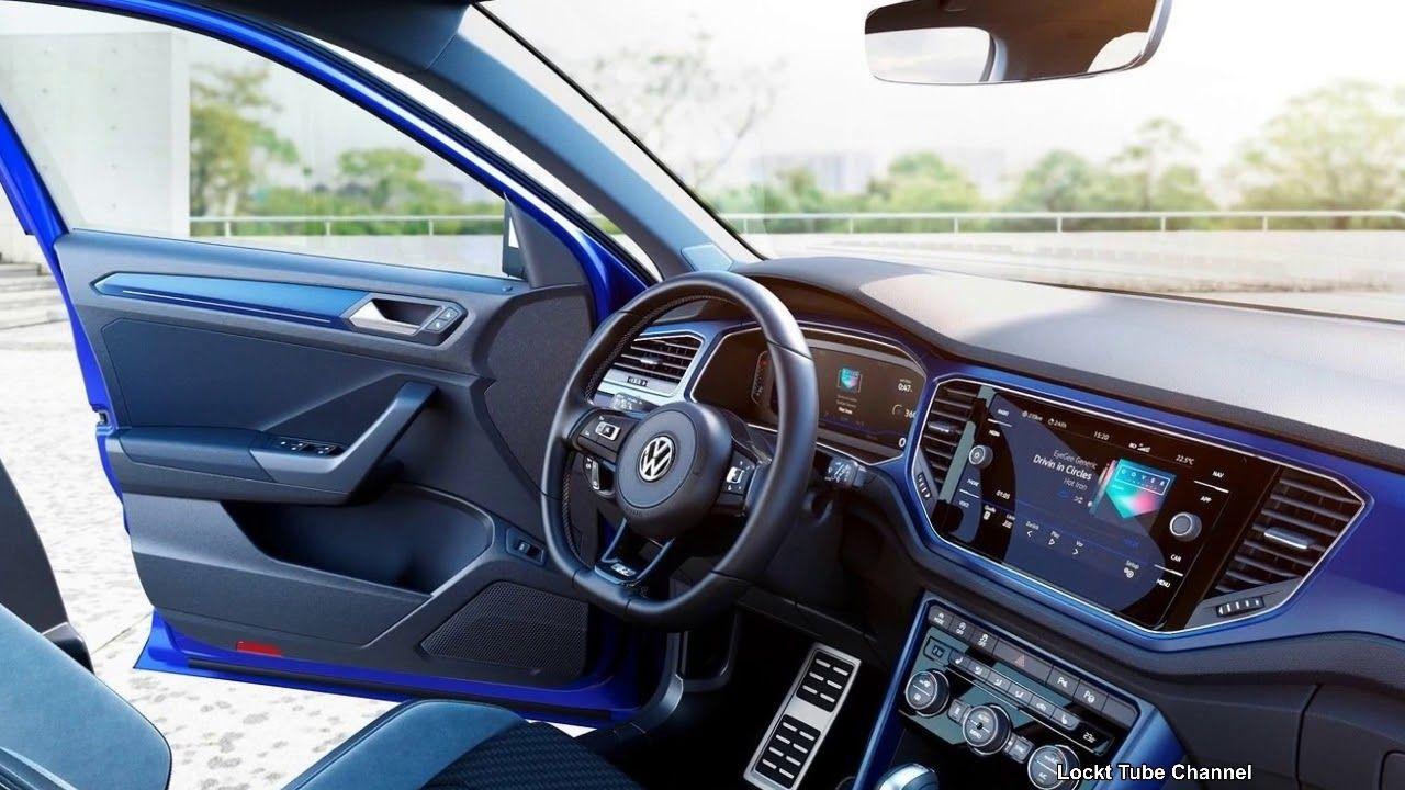2019 Volkswagen T Roc R Concept Vehicle Interior That Exudes A Motorspor Concept Cars Volkswagen Motorsport
