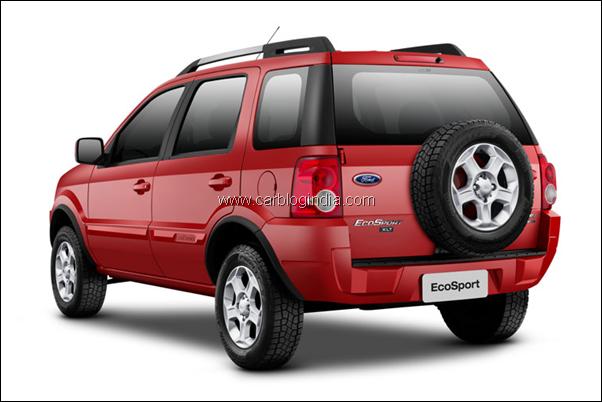 Ford Ecosport Suv Rear Carros