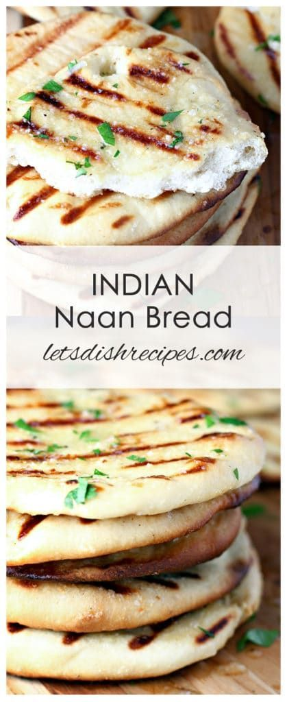 Indian Naan Bread | Recipe | Food recipes, Food dishes ...