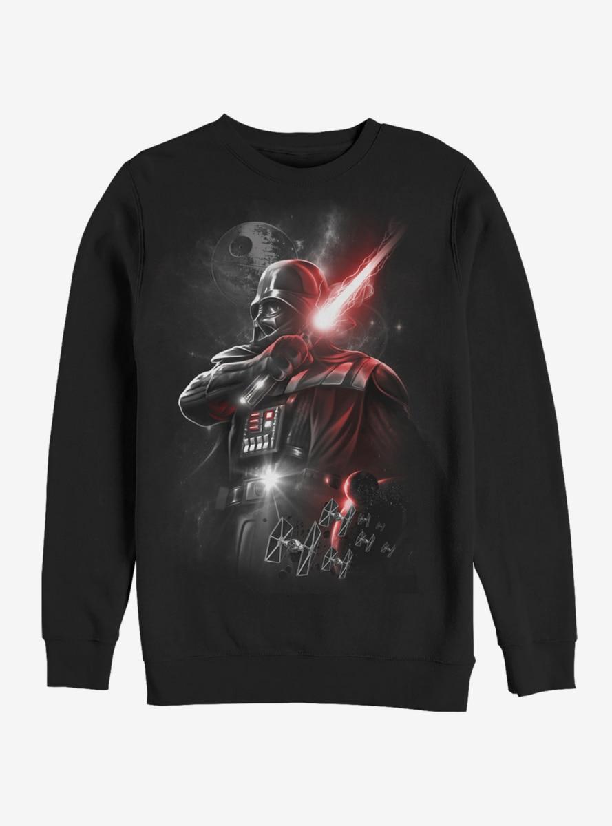 Star Wars Epic Darth Vader Sweatshirt In 2021 Star Wars Sweatshirt Dark Lord Of The Sith Sweatshirts [ 1200 x 889 Pixel ]