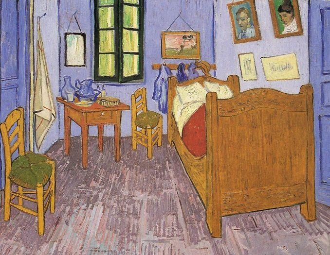 V. van Gogh \'Camera da letto\' | Art | Pinterest | Van gogh, Vans and ...