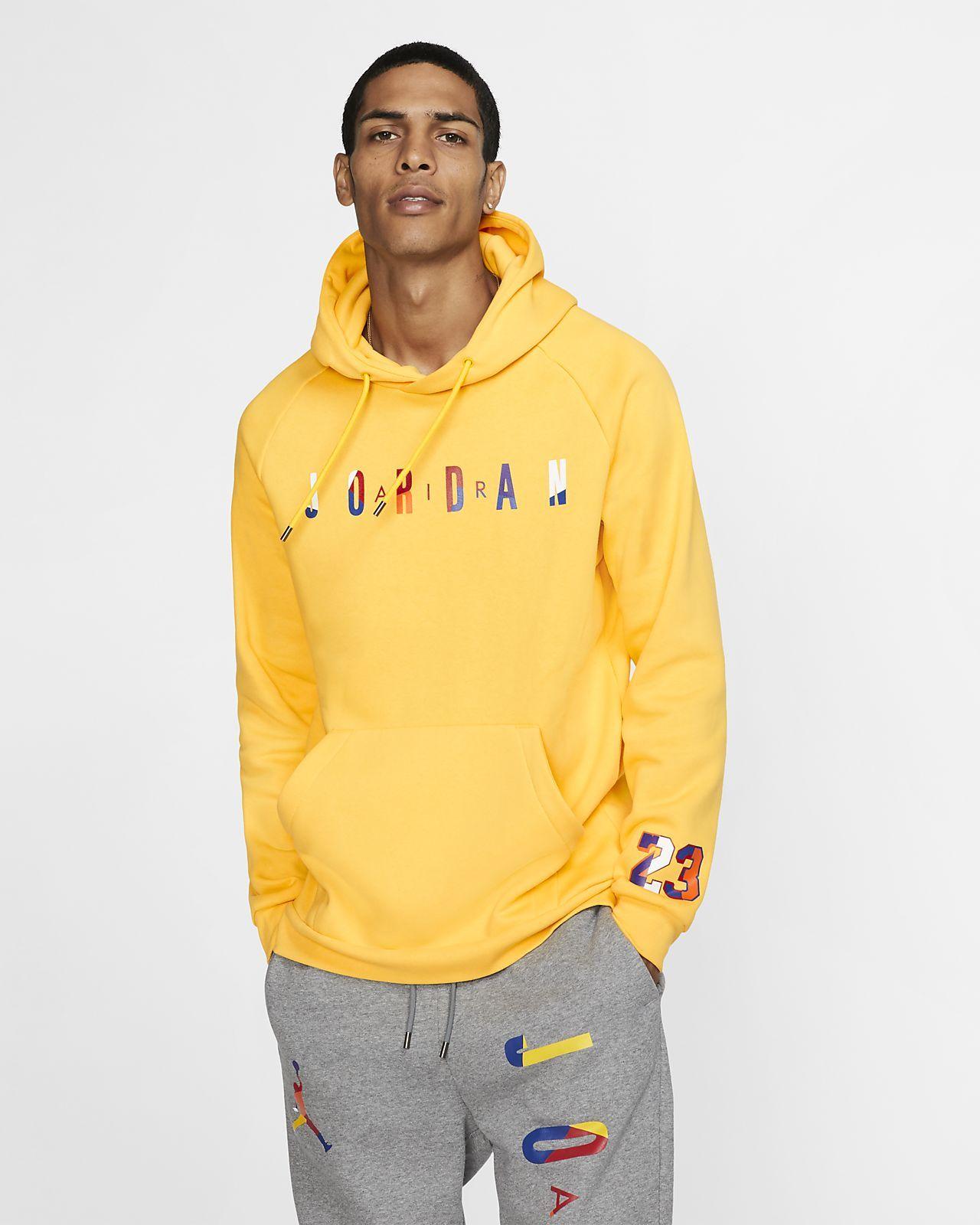 Jordan Dna Fleece Pullover Hoodie Lifestyle Tops Hoodies Fleece Pullover [ 1600 x 1280 Pixel ]