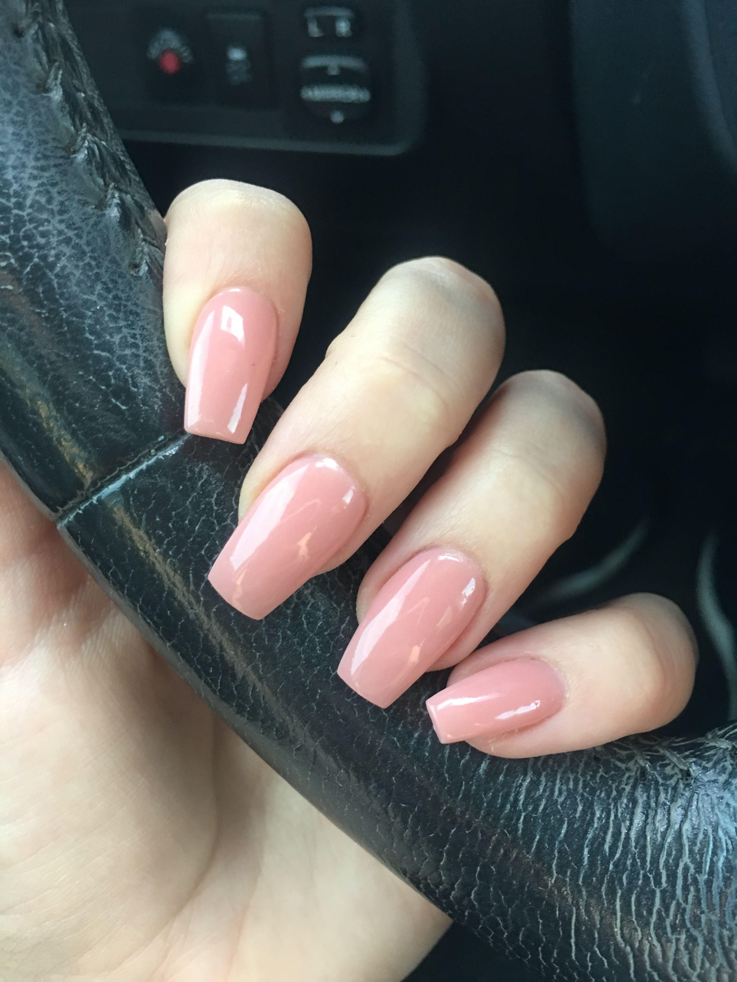 Light Pink Nails Dip Powder
