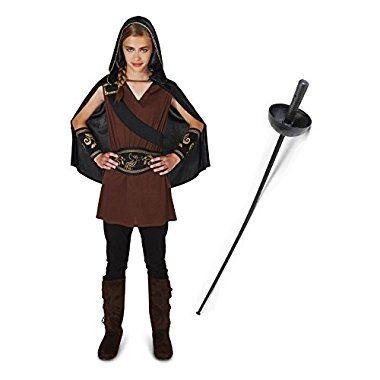 Halloween For sale Northern Princess Warrior Tween Costume Kit 5/9 - halloween costume ideas for tweens