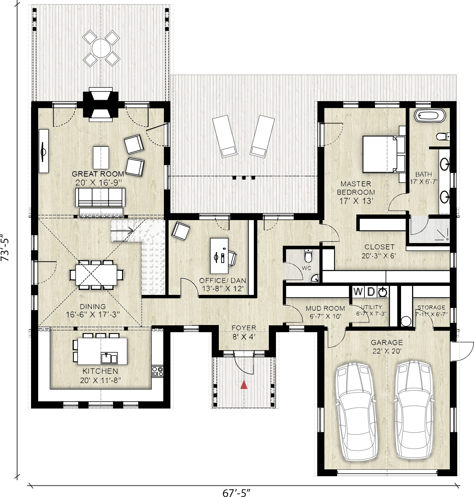 Truoba class house plan sq ft bedrooms bathrooms