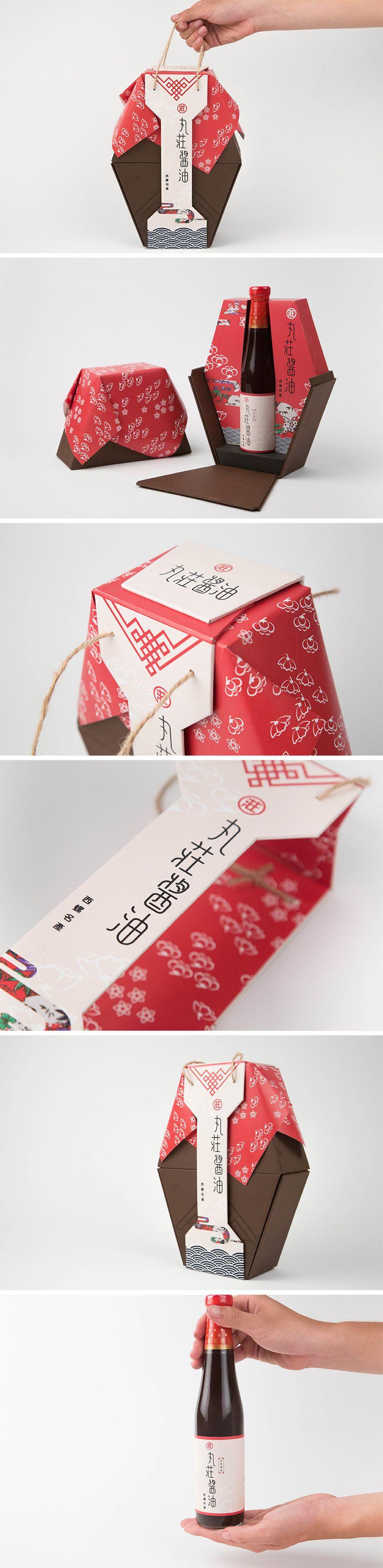 丸莊醬油 Soy Sauce Packaging Design
