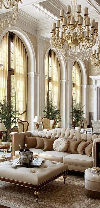 33 Beige Living Room Ideas   What I Like   Pinterest   Luxus ...