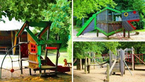 DER TRAUMSPIEL-PLATZ - QUASI VOR DER HAUSTÜRE Abenteuerspielplatz Diepeschrather Mühle