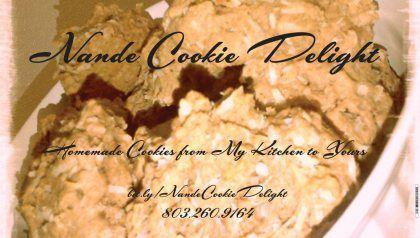 Banner Design for Nande Cookie Delight! Preparing for a bridal show next week!