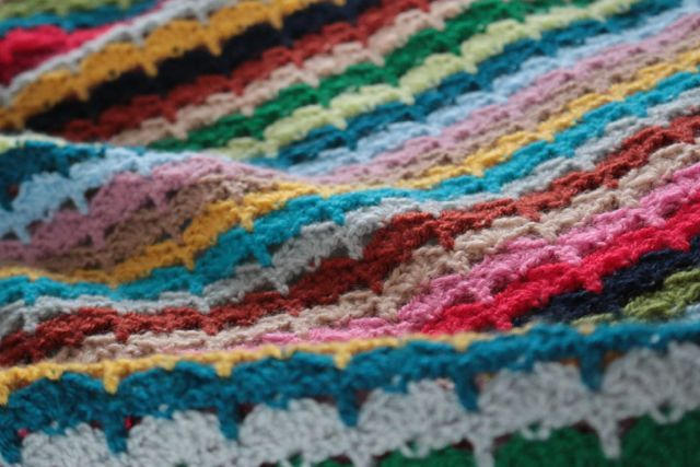My Spice of Life 'Spin-Off' crochet blanket.