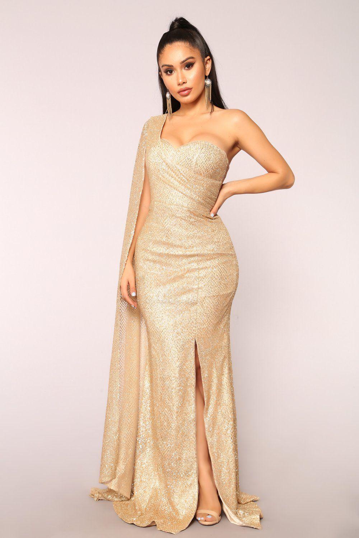 e9b94c004f9d Golden Era Glitter Dress - Gold | Clothes | Dresses, Gold dress ...