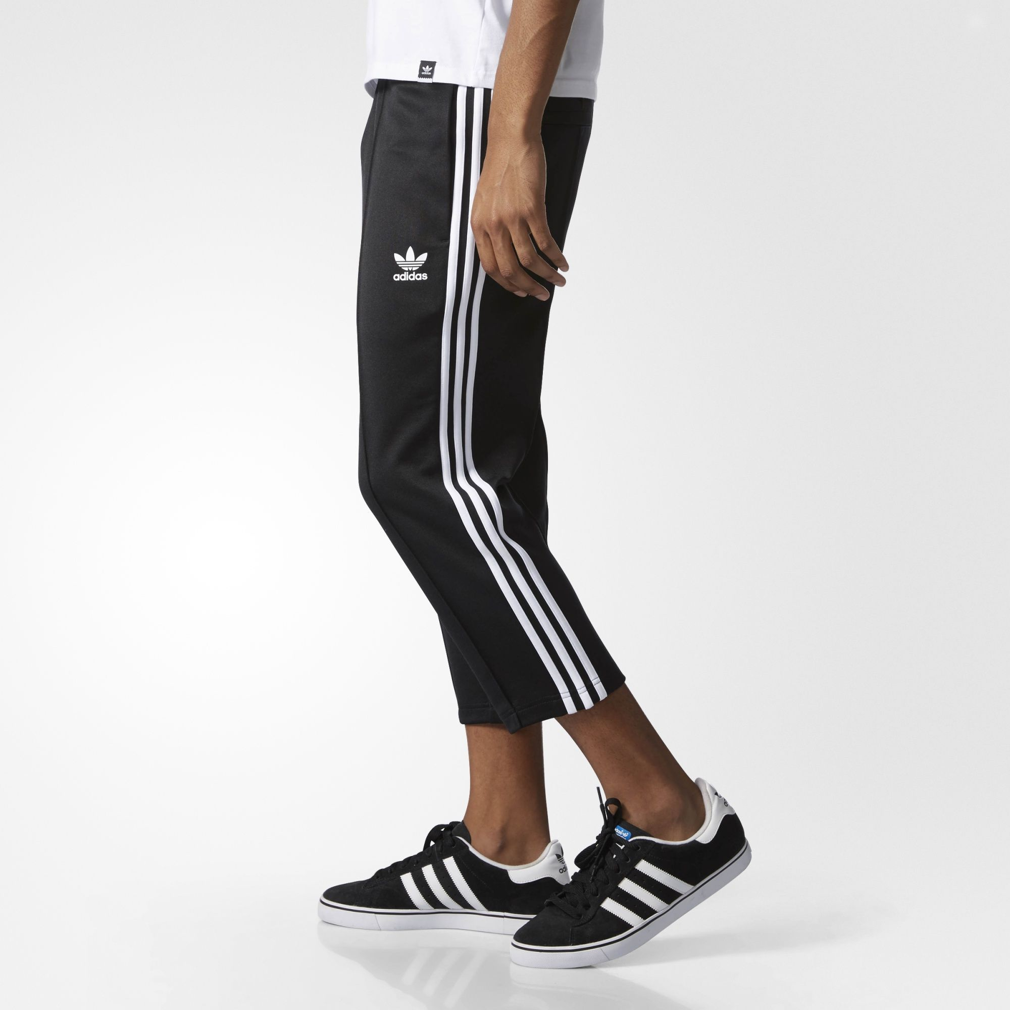 quality design 506c7 a82bd adidas - Superstar Relaxed Cropped Track Pants ...