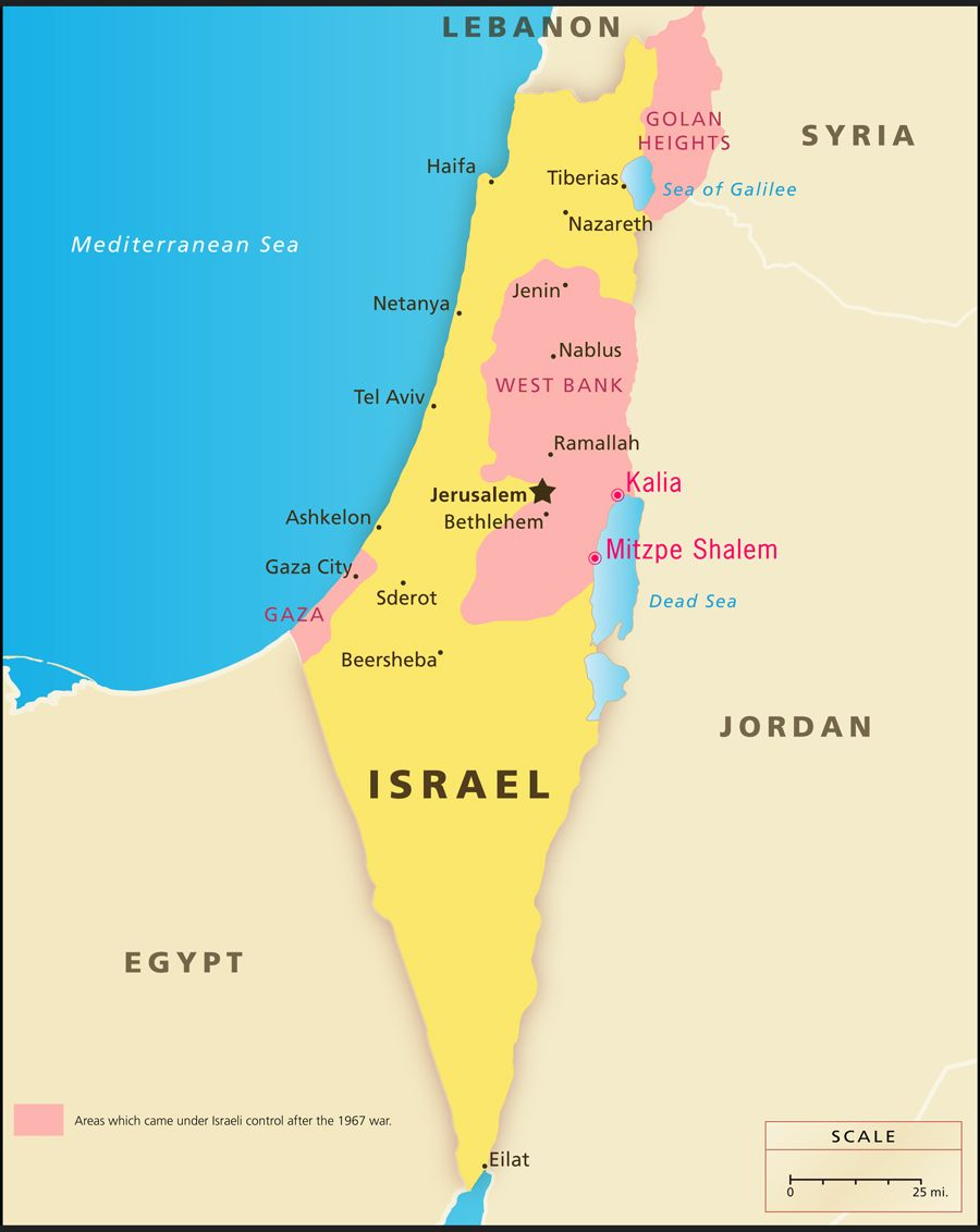 Dead Sea Israel Map | Bible | Pinterest | Gaza strip, Israel and