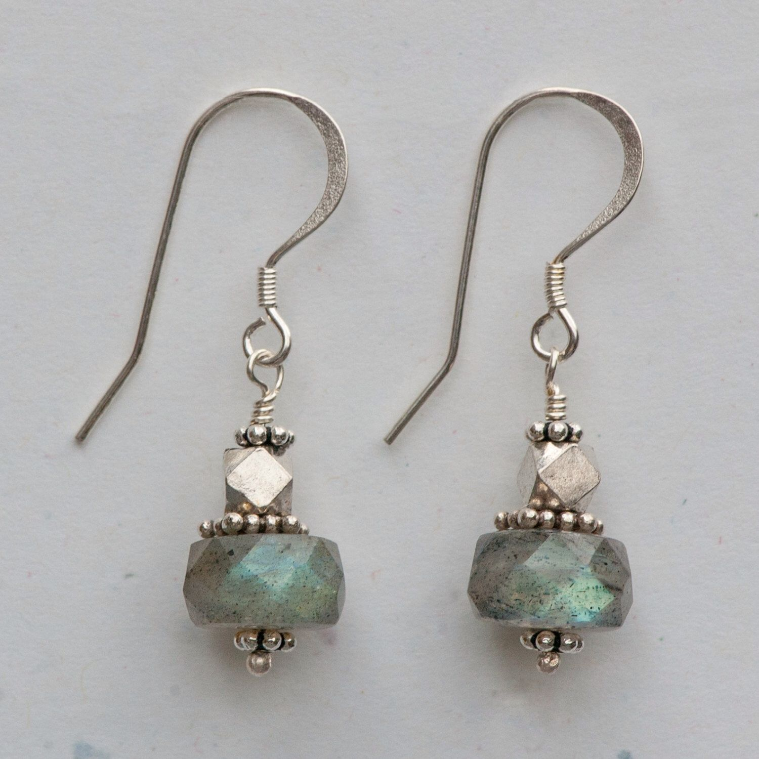 Labradorite Earrings | Labradorite, Etsy and Beads