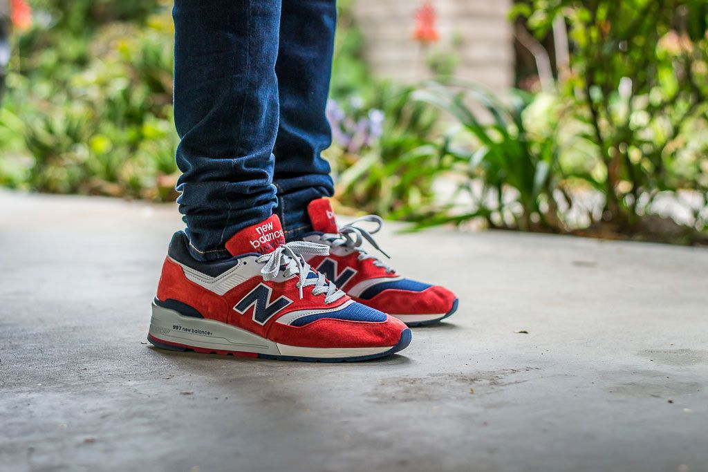 big sale eb6ba aca67 New Balance 997 Connoisseur Retro Ski On Feet Sneaker Review ...