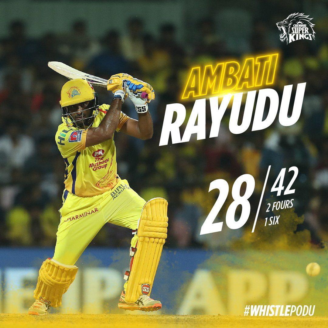 CSK 1st Match Ambati Rayudu Vivo IPL Ipl