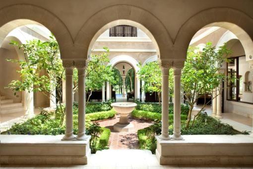Atrium Garden Cortile Villa Case Da Sogno