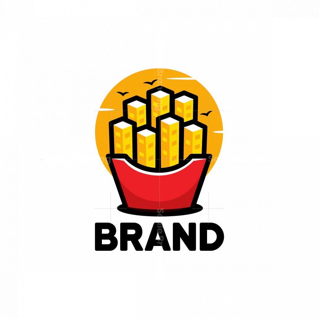 Fries city logo in 2021 city logos design city logo