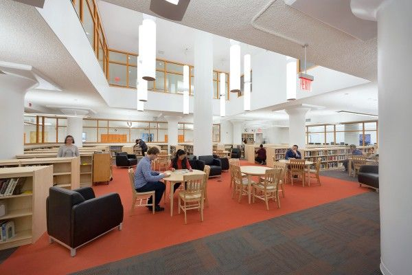 Beacon High School Library NYC Photo Courtesy Of John Ciardullo PC