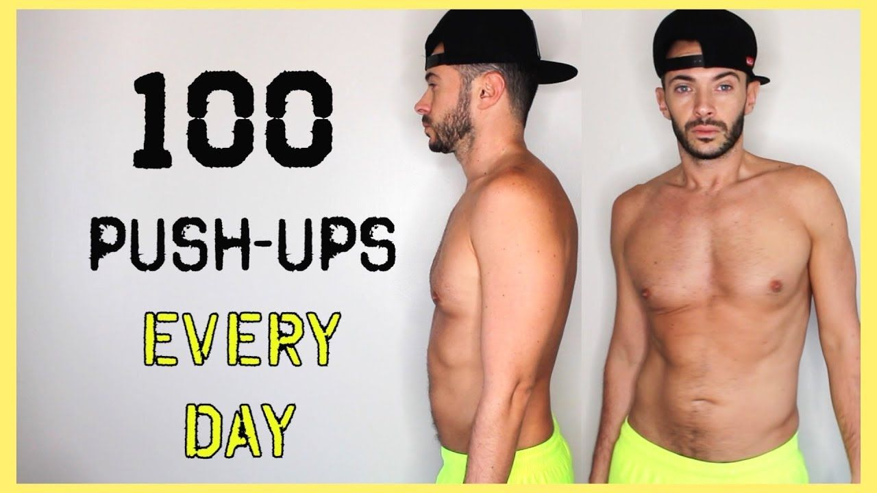 100 Push Ups Everyday For 7 Days Body Transformation Challenge Does I Transformation Body Push Up Body