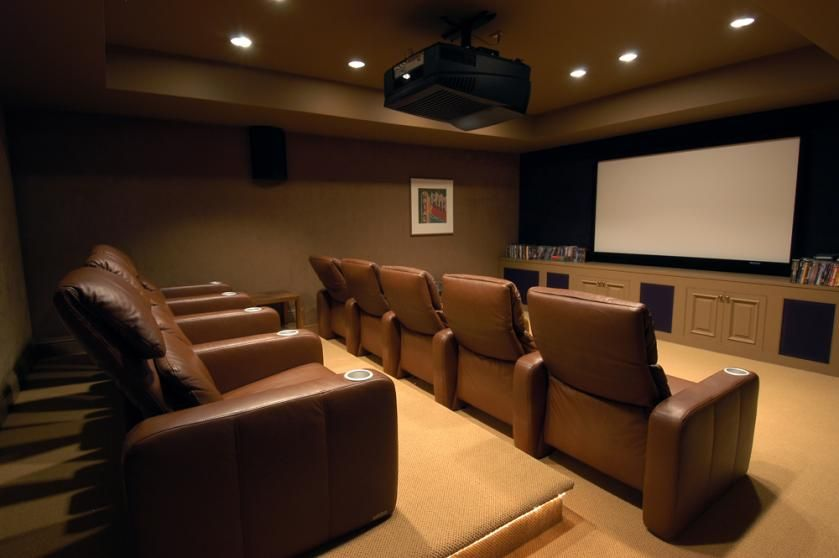 Simple And Nice Theatre Room Home Theater Rooms Theatre Room