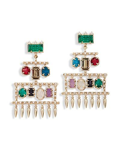 Shop a perfect pair of stud earrings chandelier earrings ear shop brass statement chandelier earrings at kendra scott with various dangling stones designed into colorful shapes the emmylou is a must have accessory aloadofball Choice Image