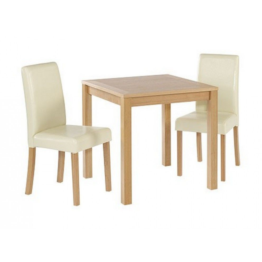 Lpd furniture oakvale small dining table and chairs from £149 99 with free delivery