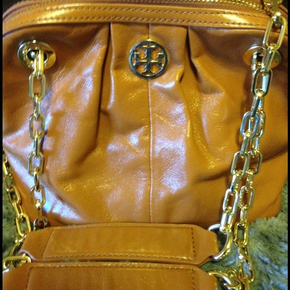 38e1644d53e Tory Burch authentic Dena Mini Luggage purse Authentic Tory Burch Dena Mini  luggage purse. Measurements are 9 by 7.5 by 5. Has the softest brown  leather ...