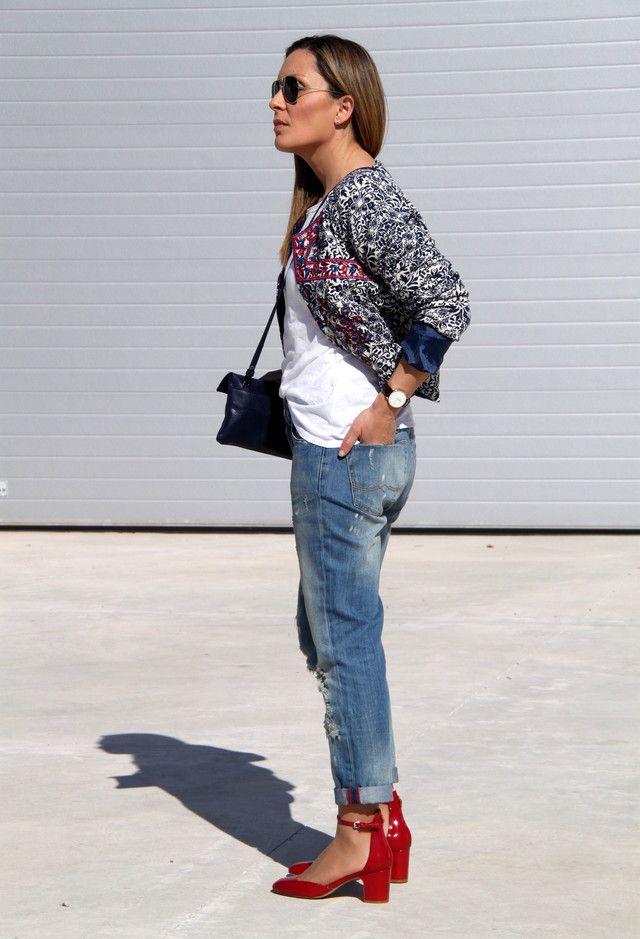 Sheinside  Jaquetas and Mango  Jeans
